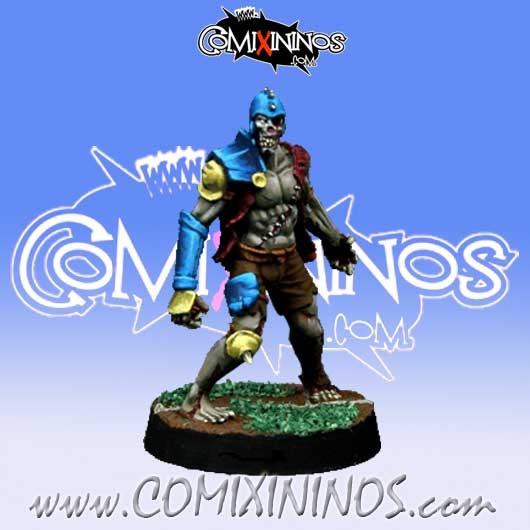 Undead / Necromantic - Zombie nº 4 - Willy Miniatures