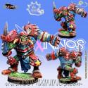 Orcs - Barack Orc Star Player - Meiko Miniatures