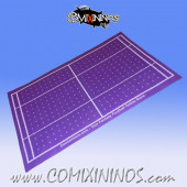Purple Felt Gaming Mat - Comixininos
