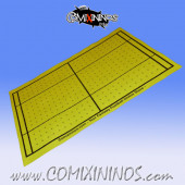 Yellow Felt Gaming Mat - Comixininos