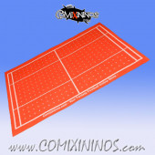 Orange Felt Gaming Mat - Comixininos
