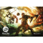 Guild Ball - Guild Ball A4 Rulebook (with Sleeve) - Steamforged Games