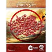 Guild Ball - Butcher's Token Set - Steamforged Games