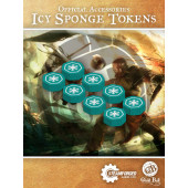Guild Ball Icy Sponge Tokens Set - Steamforged Games