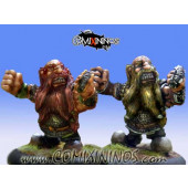 Dwarves - Set of 2 Veteran Dwarves - Mano di Porco