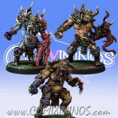 Evil Pact - Set of 3 Mutated Big Guys - Meiko Miniatures