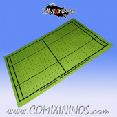 Light Yellow Felt Gaming Mat - Comixininos