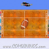 34 mm Indoor Plastic Gaming Mat NO Dugouts - Comixininos