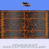 34 mm Lava Plastic Gaming Mat NO Dugouts - Comixininos
