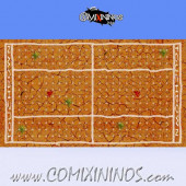 34 mm Mud Plastic Gaming Mat NO Dugouts - Comixininos