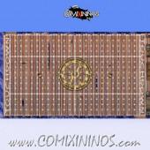 34 mm Pirate Plastic Gaming Mat NO Dugouts - Comixininos
