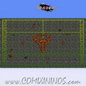 34 mm Ratmen Plastic Gaming Mat NO Dugouts - Comixininos
