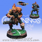 Undead - Jack N' Slash Skeleton Chainsaw Star Player - Willy Miniatures