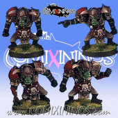 Orcs - Set of 4 Linemen - Black Scorpion