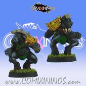 Evil / Animals - Siringit Cape Buffalo Blocker - Impact!