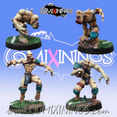 Undead / Necromantic - Set of 4 Classic Ghouls - Meiko Miniatures