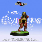 Amazons - Amazon Linewoman nº 4 - Willy Miniatures