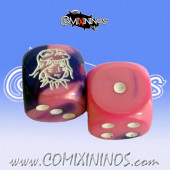 Set of 2d6 Amazon Dice - Meiko