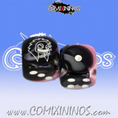 Set of 2d6 Amazon Dice - Willy