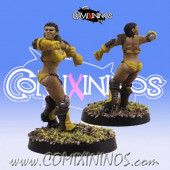 Amazons - Amazon Linewoman nº 3 - SP Miniaturas