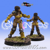 Amazons - Amazon Linewoman nº 4 - SP Miniaturas