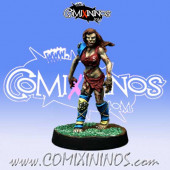 Undead / Necromantic - Amazon Zombie - Willy Miniatures