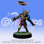 Undead / Necromantic - Beastman Zombie - Willy Miniatures