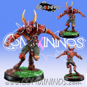 Evil - Beastman nº 3 - Willy Miniatures
