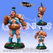 Big Guy - Irma Bigfist Female Ogre Star Player - Meiko Miniatures