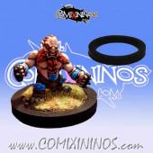 Skill Marker - Black Rubber Deluxe Ring - Comixininos