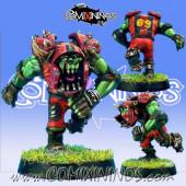 Orcs - Resin Orc Blitzer nº 1 - Necrom Studio