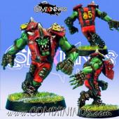 Orcs - Resin Orc Blitzer nº 3 - Necrom Studio
