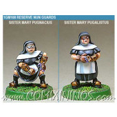 Amazons / Humans - Nun Blitzers Set of 2 - Shadowforge