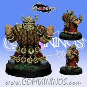 Dwarves - Dwarf Blocker nº 3 - SP Miniaturas