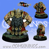 Dwarves - Dwarf Blocker nº 6 - SP Miniaturas