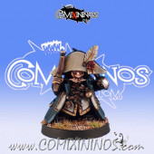 Dwarves - Dwarf Pirate Coach - Black Scorpion