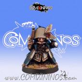 Dwarves - Dwarf Pirate Coach - Black Scorpion