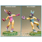 Amazons / Humans - Bunny Catchers Set of 2 - Shadowforge