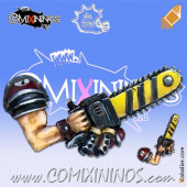 Weapons - Chainsaw - Meiko Miniatures