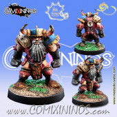 Evil Dwarves - Evil Dwarf Blocker nº 1  - Meiko Miniatures