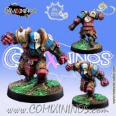 Evil Dwarves - Evil Dwarf Blocker nº 3  - Meiko Miniatures