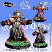 Evil Dwarves - Evil Dwarf Blocker nº 5  - Meiko Miniatures