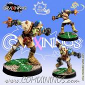 Evil Dwarves - Hobgoblin nº 4  - Meiko Miniatures