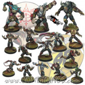 Evil Pact - Team of 15 Players with 3 Big Guys - SP Miniaturas