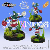 Lizardmen - Baby Lizard Cheerleader - Meiko Miniatures