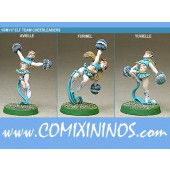 Elves - Elf Cheerleaders Set of 3 - Shadowforge
