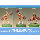 Humans - Human Cheerleaders Set of 3 - Shadowforge