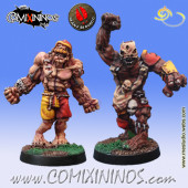 Necromantic - Set of 2 Flesh Golems - Mano di Porco