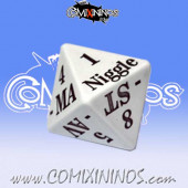 Jumbo Size 1d8 Serious Injury Dice - Meiko