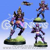 Dark Elves - Dark Elf Lineman nº 6 - Meiko Miniatures
